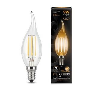 Лампа Gauss LED Filament Candle tailed E14 9W 2700K